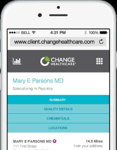 Change Healthcare Mobil App