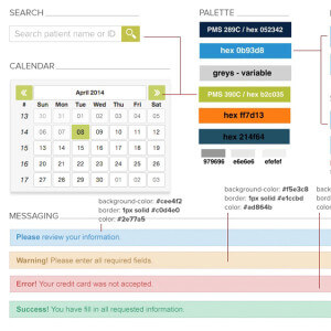 Navicure User Interface Design