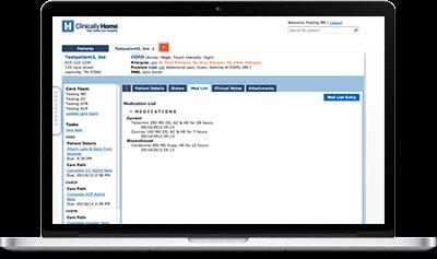 Clinically Home Desktop Screenshot