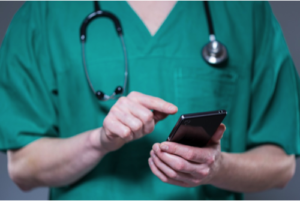 use mobile app to better engage patients