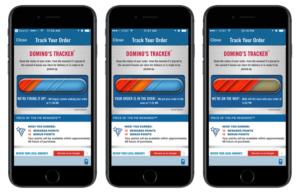 Domino's Pizza Tracker - Mobile App