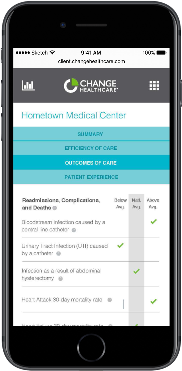 Change Healthcare app by PointClear Solutions