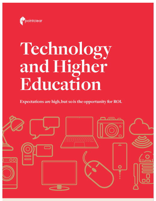 Technology and Higher Education Infographic